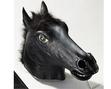 Horse head mask - black